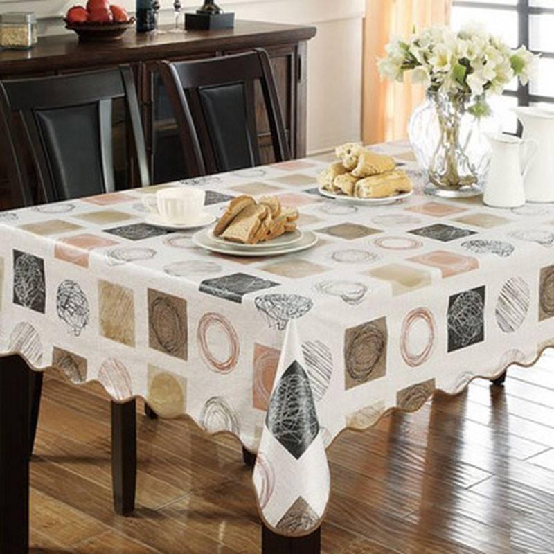 Скатерть для стола на кухню — 82 фото потрясающих идей красоты и практичности