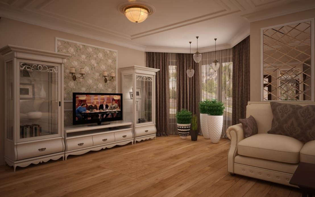 Мебель в гостиную в классическом стиле: фото примеры интерьеров