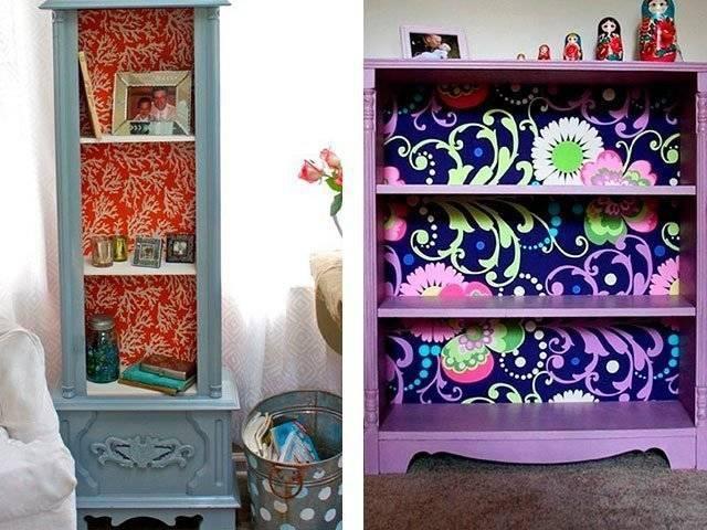 Способы декорирования мебели, как сделать своими руками