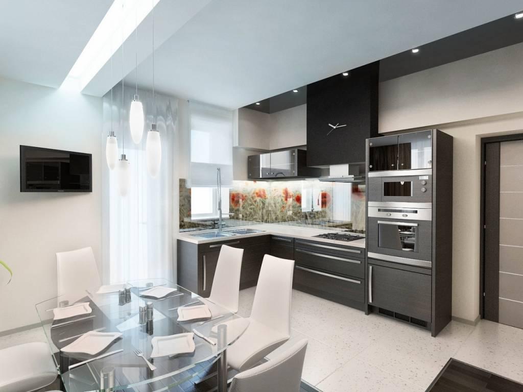 Кухня в стиле хай-тек: 40 фото интерьеров и гид по дизайну
