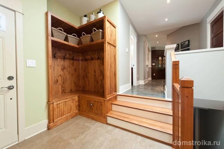 Выбираем место под встроенный шкаф в прихожей – рекомендации дизайнеров