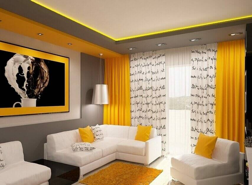 Новейшие идеи дизайна гостиной 16 кв. м: все про зонирование и интерьер