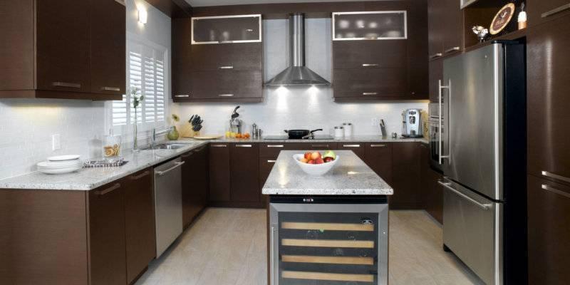 Кухня цвета капучино: интересные идеи оформления и 90+ реальных фото примеров