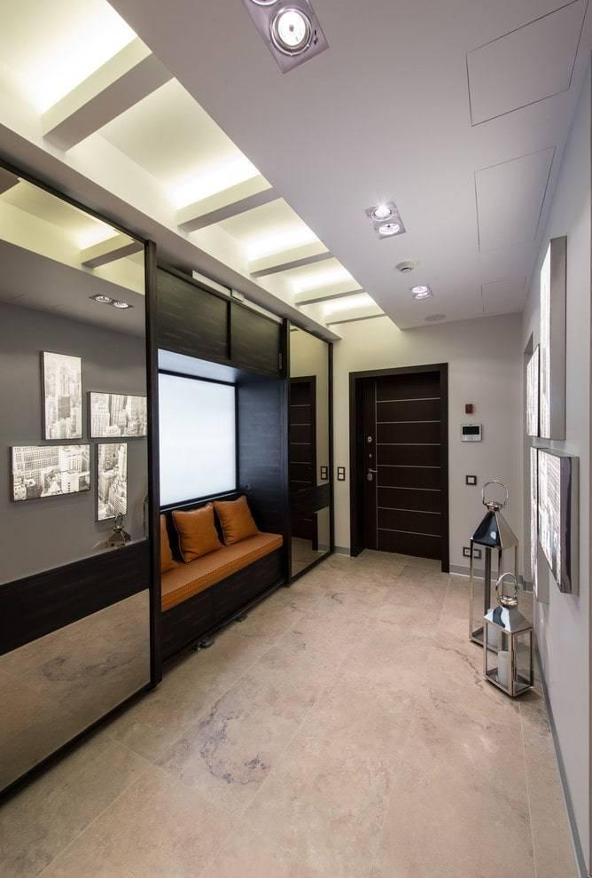 Прихожая в стиле хай-тек (66 фото): современный дизайн коридора, шкаф и другая мебель для интерьера