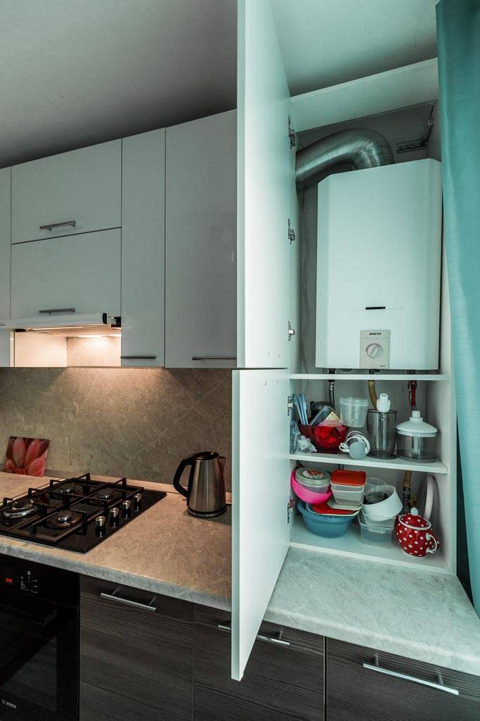 Кухни с газовой плитой: 30 фото интерьеров, решения с перепланировкой и перегородкой