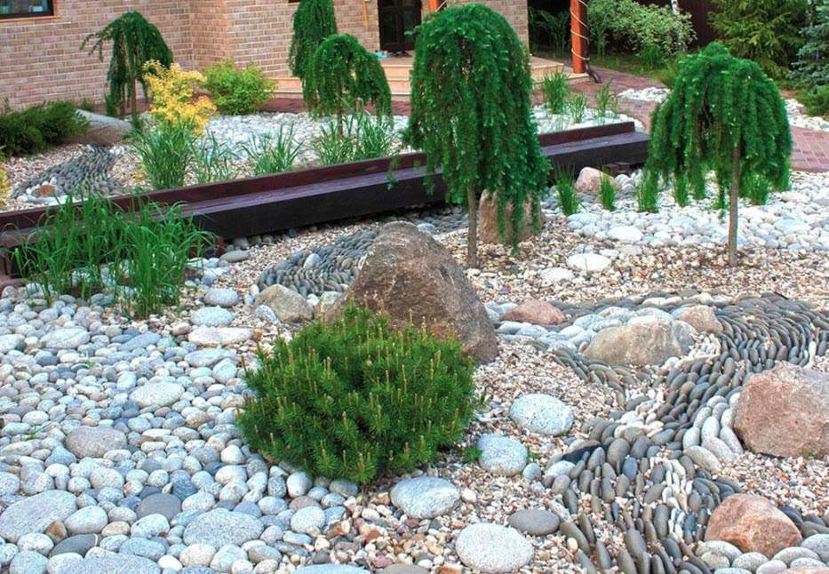 Декоративные элементы в ландшафтном дизайне