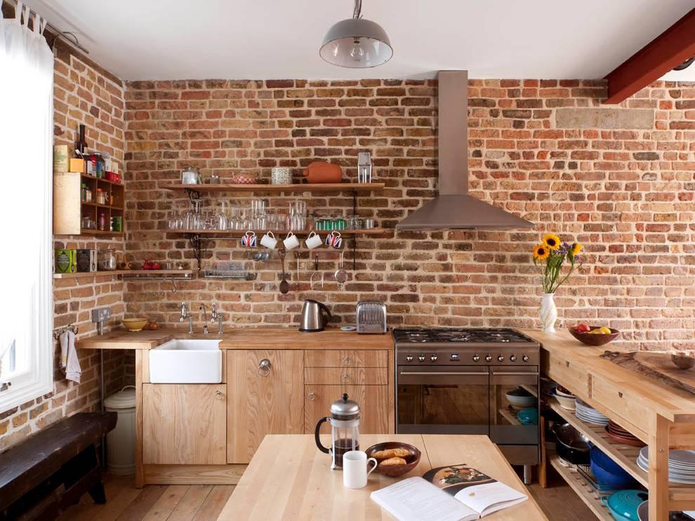 Стены на кухне: 70+ фото в интерьере, красивые идеи оформления
