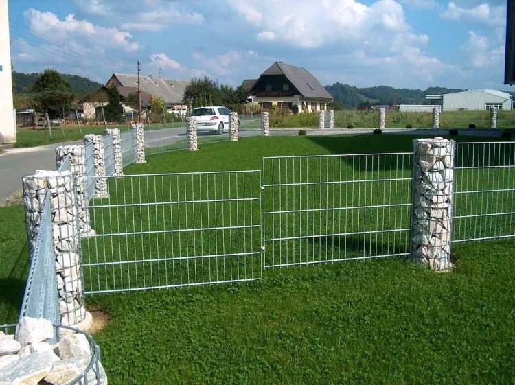 Забор габион