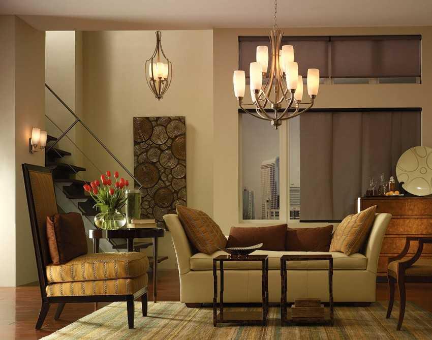 Какую люстру выбрать для зала, комнаты и гостинной: рейтинг люстр