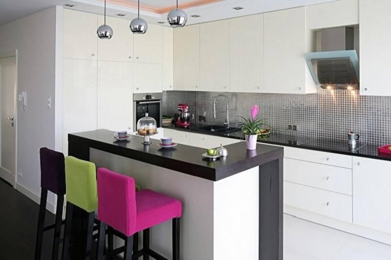 Черно-белая кухня – 50 фото и 11 дизайн-подсказок