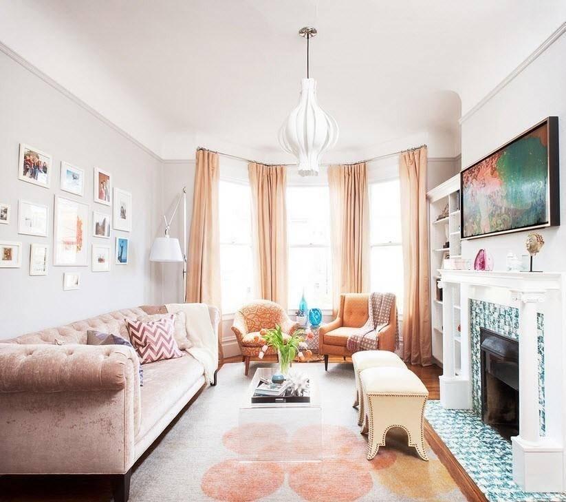 10 идей для дизайна маленькой гостиной