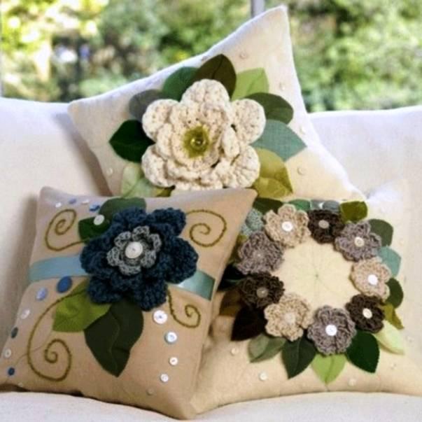 Декоративные подушки своими руками: 145+ (фото) схемы, выкройки