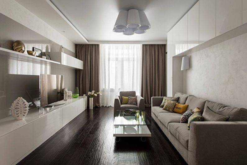 Гостиная в стиле минимализм (80 фото) - дизайн интерьера, идеи ремонта и отделки