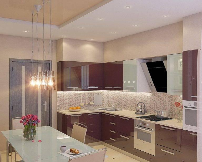 Дизайн кухонного гарнитура: 100 фото идей