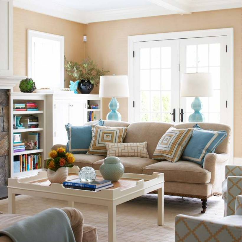 Песочный цвет в интерьере +50 фото - «декор» » «дизайна интерьера»