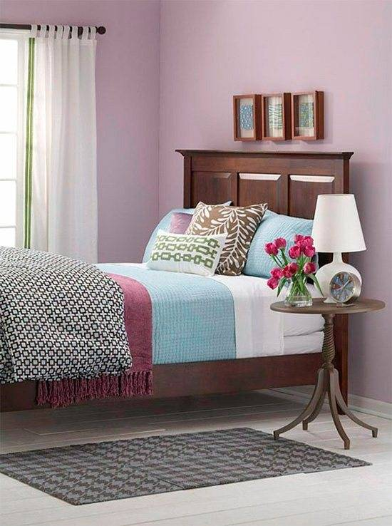 Гармония цветовых сочетаний в интерьера спальни
