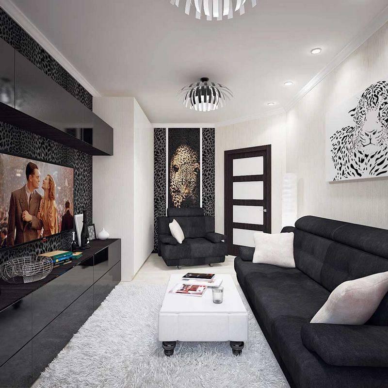 Гостиная в современном стиле: особенности планировки комнаты площадью 18 кв. м