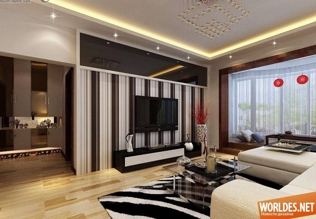 Ремонт гостиной (150 фото): обзор лучших дизайн-проектов и новинок дизайна