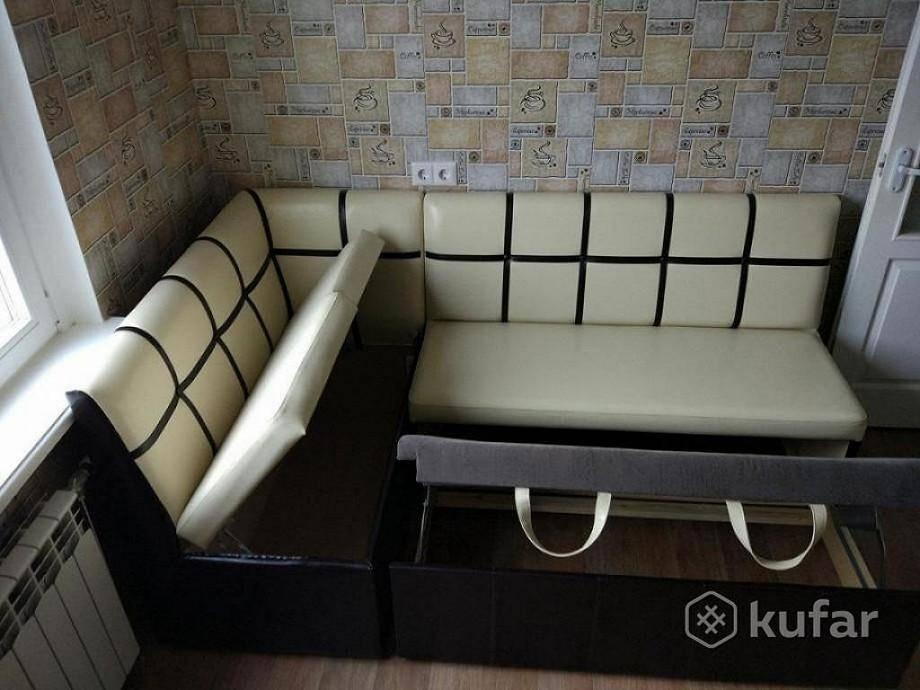 Размеры кухонных диванов