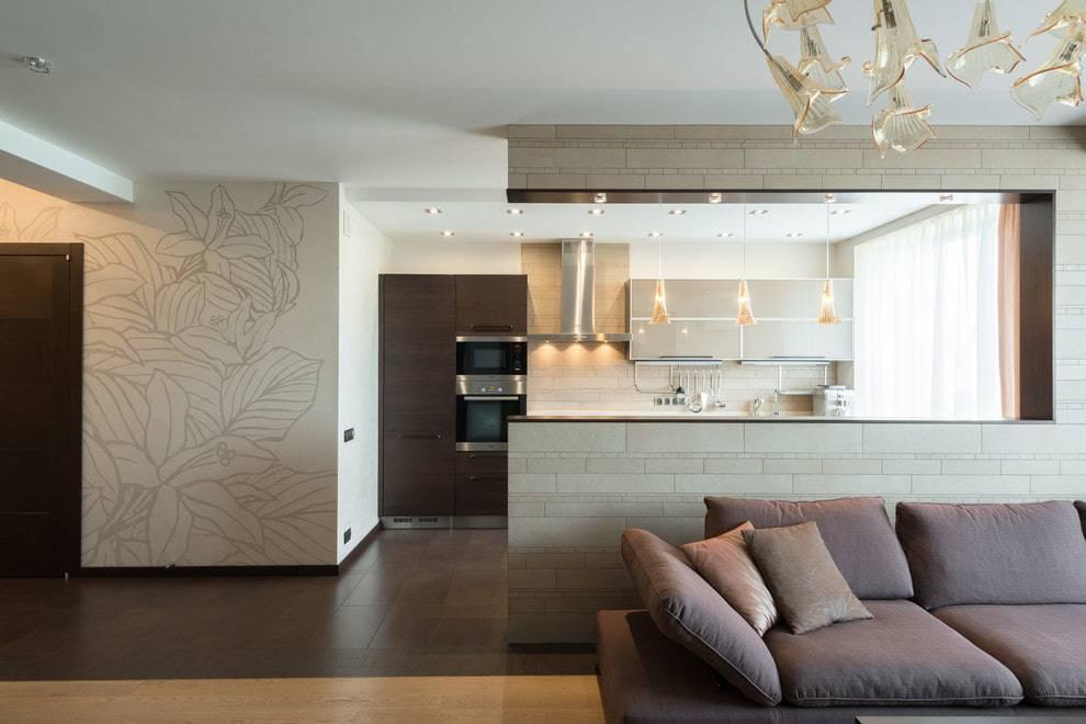 Дизайн кухни-гостиной 20 кв. м: как зонировать и оформить помещение?