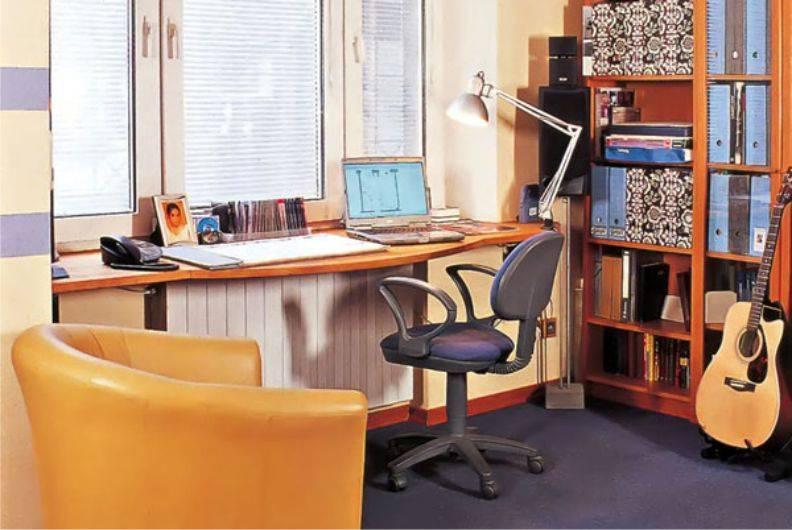 Рабочее место у окна: 100 фото-идей организации практичного интерьера