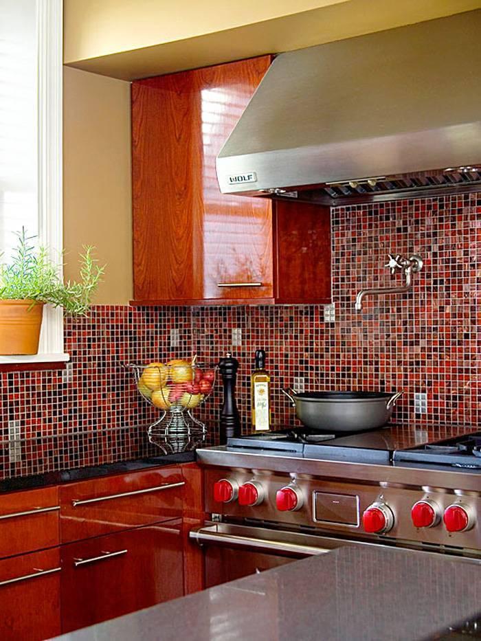 Кафель для кухни: советы по выбору материала и готовые идеи дизайна (40 фото)