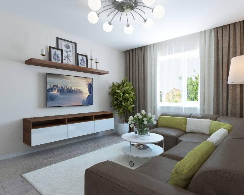 Дизайн интерьера гостиной 18 кв. м: выбрать мебель, декорирование поверхностей, освещение | ileds.ru