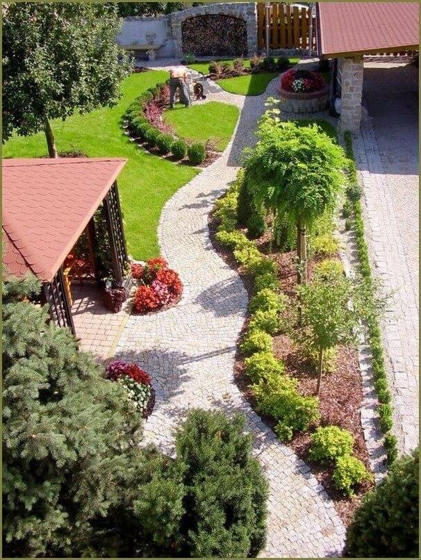 Идеи для ландшафтного дизайна перед домом