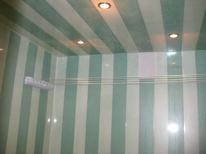 Как сделать пластиковый потолок: пошаговая инструкция