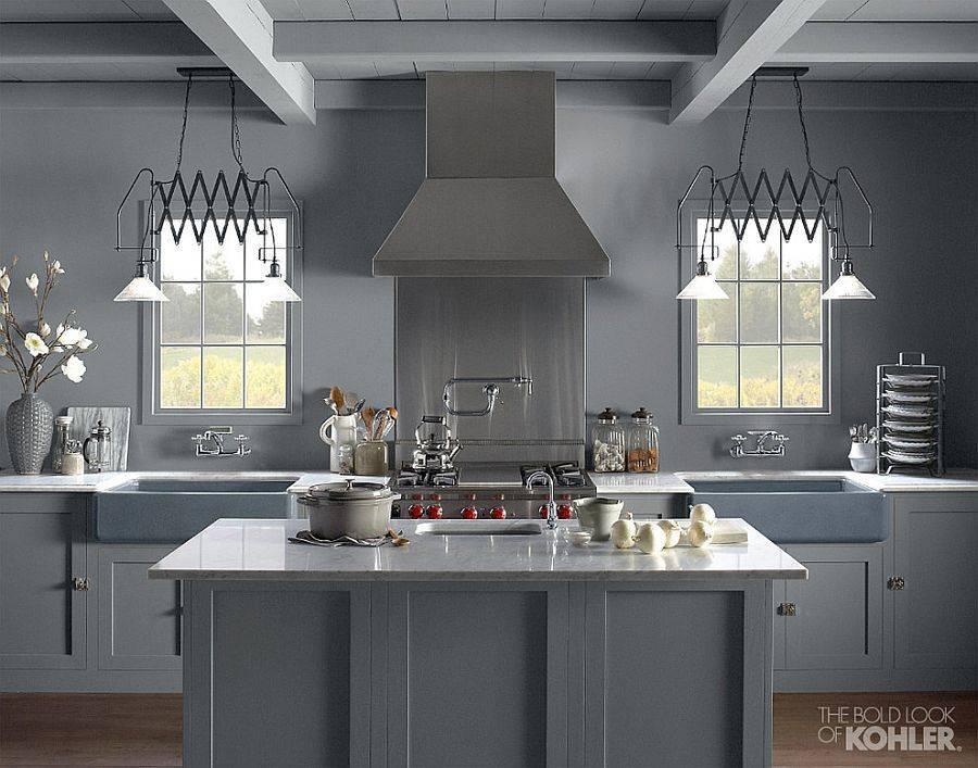 Оформление кухни в бежевом цвете: выбор стиля и гарнитура
