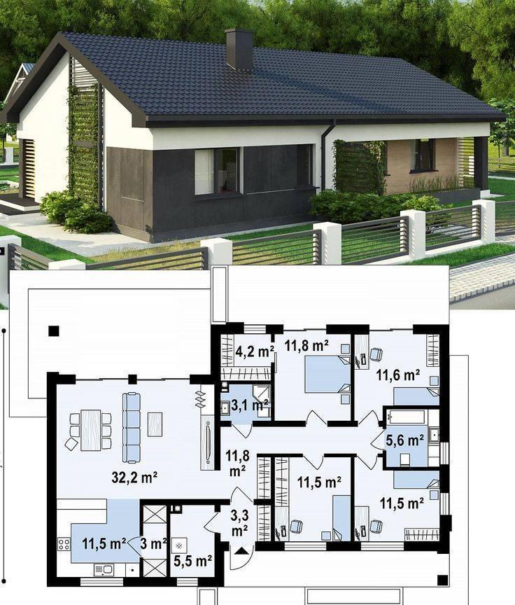 Проекты домов с планировкой — лучшие идеи, реальные примеры и функциональные схемы современных домов (115 фото)