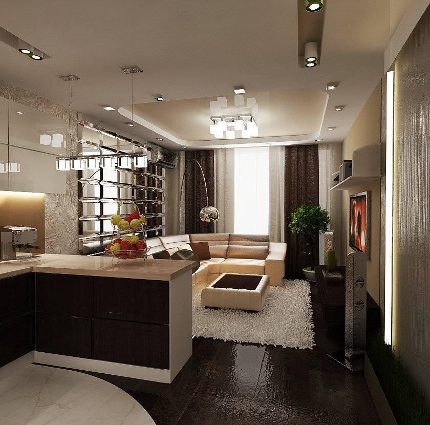 Как совместить кухню с гостиной? 80 фото как объединить зал с кухней с газовой плитой, дизайн совместных комнат