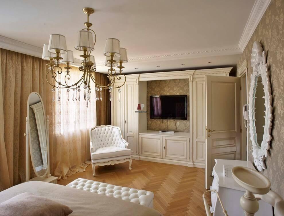 Дизайн квартиры: стиль современная классика, фото, приемы и идеи