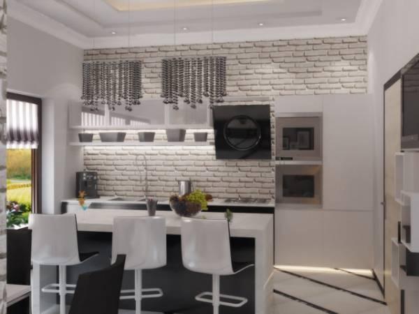 Кирпич в интерьере квартиры (42 фото): декоративные кирпичики - безвкусица или стильное решение, кирпичная стена в современном дизайне