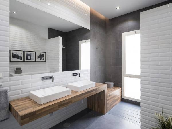 Белая плитка в ванной - 110 фото основных примеров размещения и способов нанесения плитки