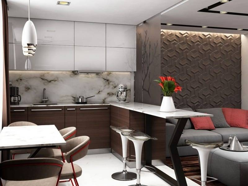 Декоративные панели для кухни: стеновые листовые материалы на стену