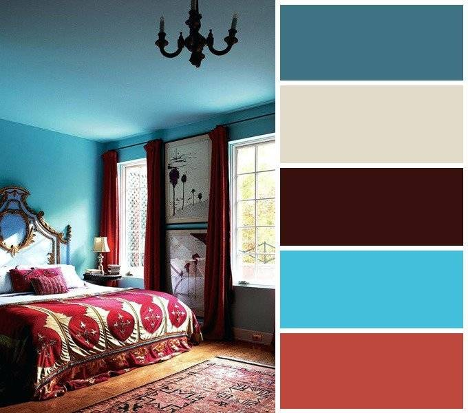 Использование бордового цвета в интерьере - 75 фото