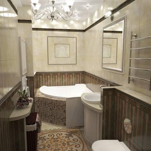 Дизайн ванной комнаты в бежевом цвете: утонченность и комфорт (+53 фото)