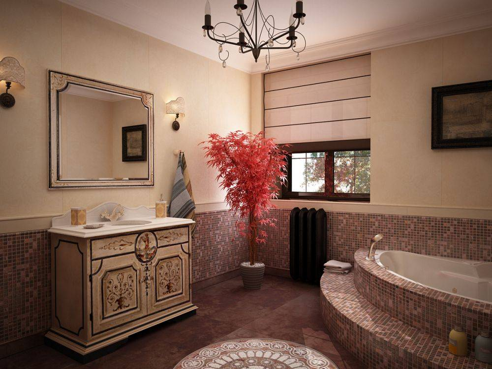Оформление ванной - 105 фото основных правил создания уникального интереьра
