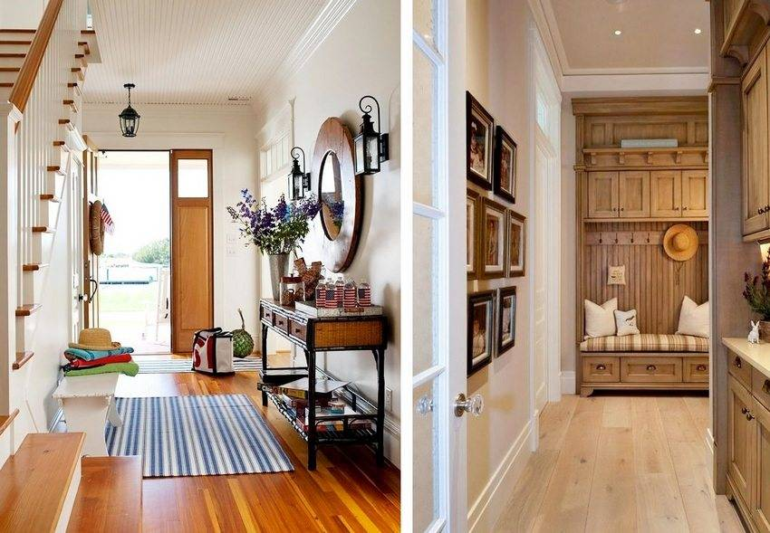 Дизайн прихожей вчастном доме: 68 фото-идей