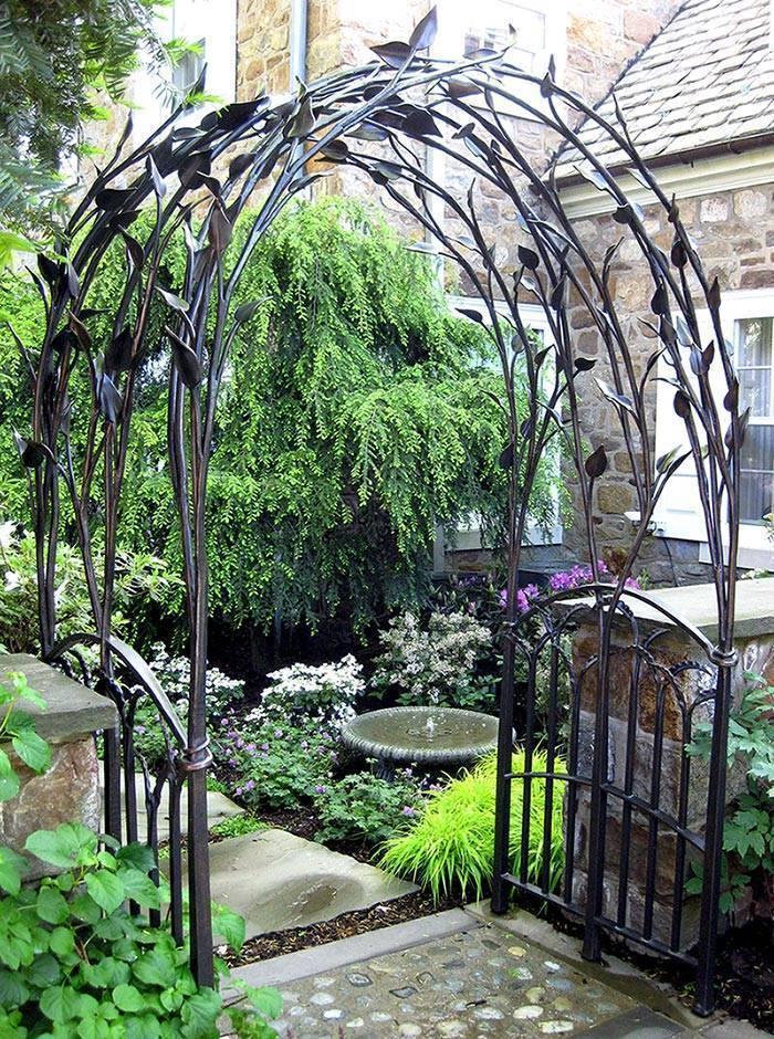 Арка в саду: виды, оригинальный дизайн, назначение и фото арок