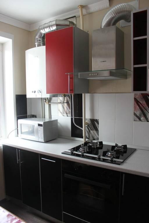 Дизайн маленькой кухни в хрущевке с холодильником — лучшие варианты с 35 фото