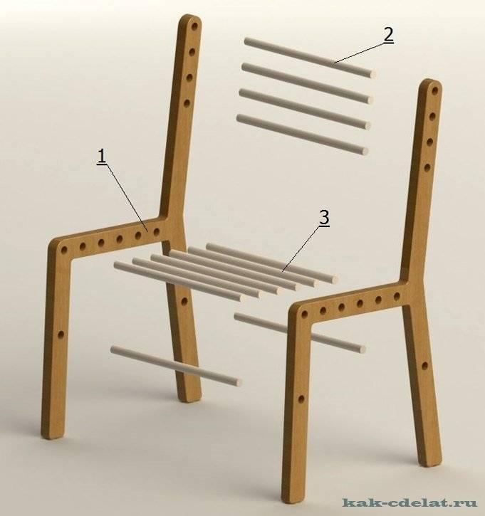 Детский стул своими руками: 280 фото + чертежи размеры инструкции