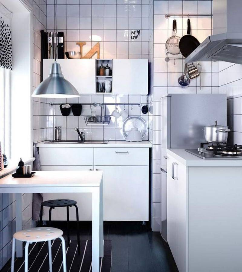 100 лучших идей для дизайна маленькой кухни: красивый и стильный интерьер