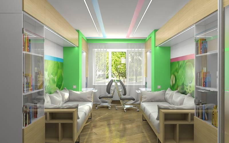 Детская 15 кв. м. — особенности зонирования, размещения элементов интерьера и выбор актуального дизайна (95 фото)