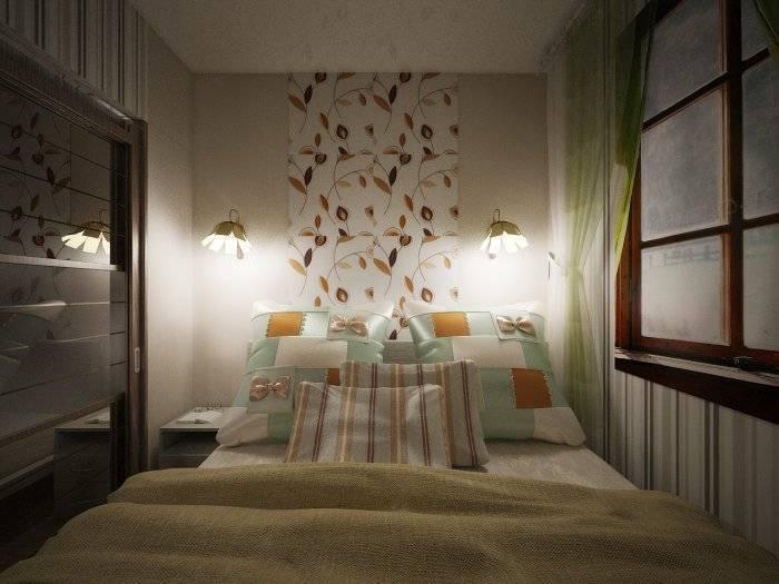 Особенности интерьера и дизайна узкой спальни