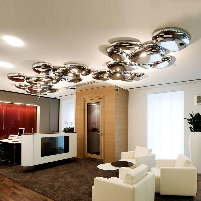 Люстры для гостиной - фото готовых дизайнерских решений
