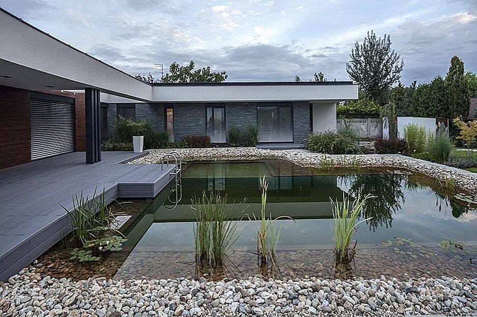 Ландшафтный дизайн частного и загородного дома со двором