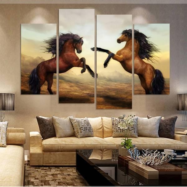 Роспись стен: особенности дизайна, виды и фото в интерьере