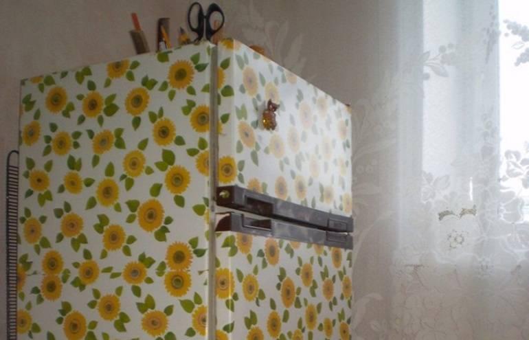 Как обклеить кухонный гарнитур самоклеющей пленкой - инструкция с фото